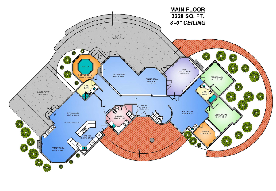 Brampton real estate marketing services and floor plans.
