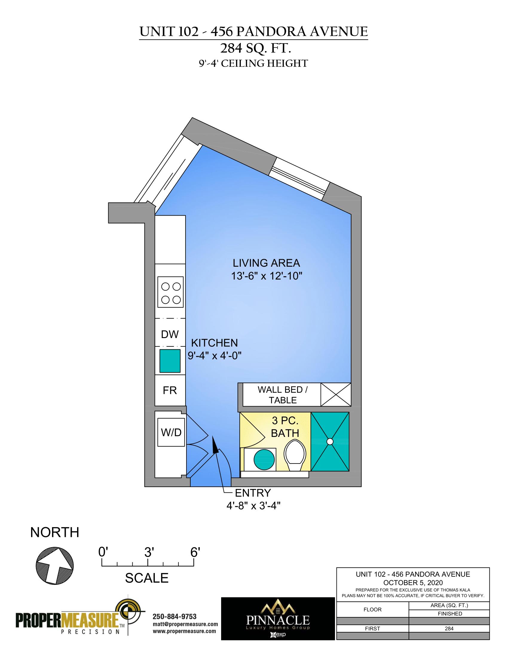 Bachelor condo floor plans in Victoria