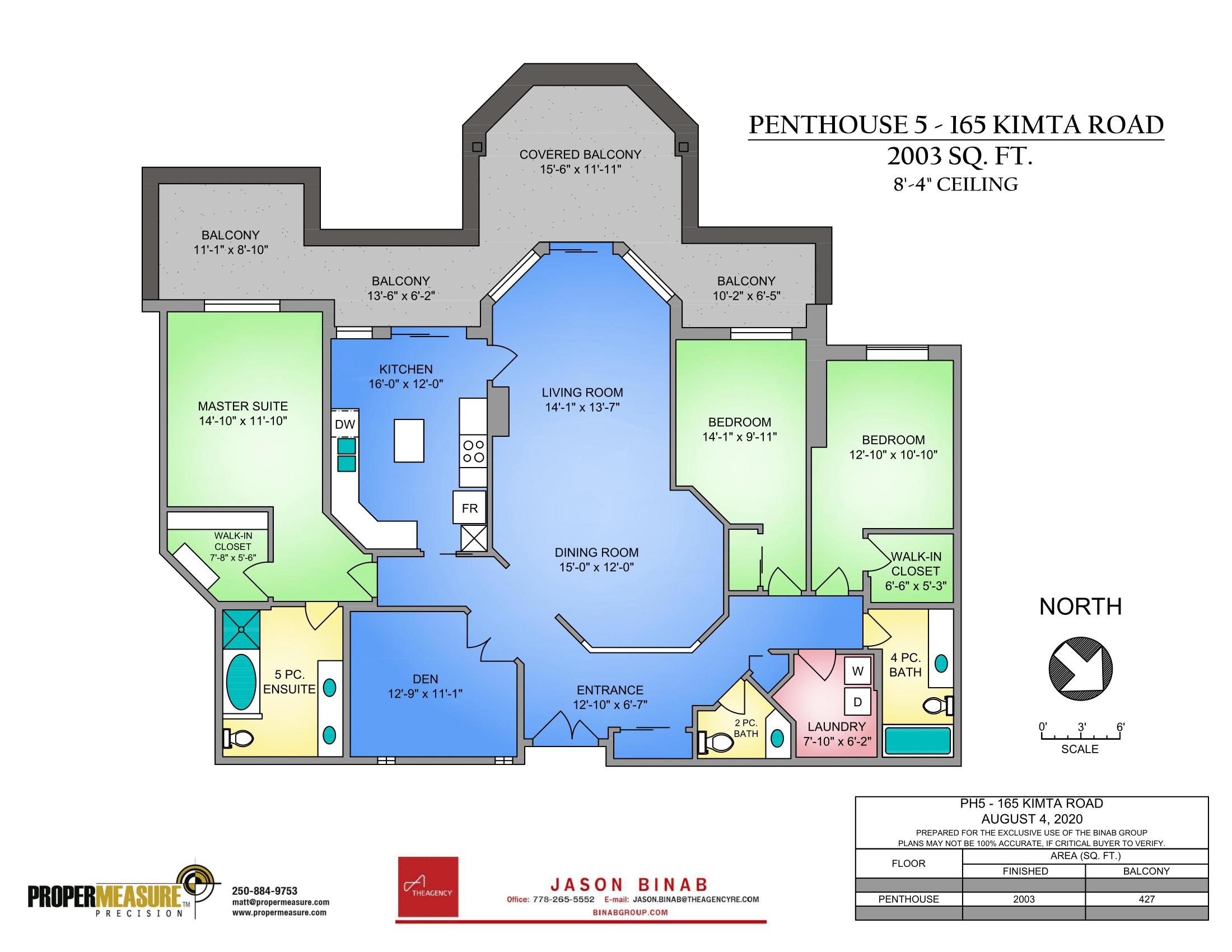 Penthouse condo floor plans Victoria