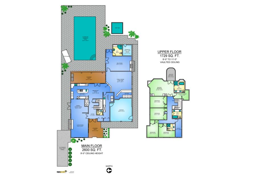 floor plans in Vancouver real estate market