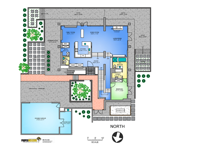 Vancouver real estate market floor plans